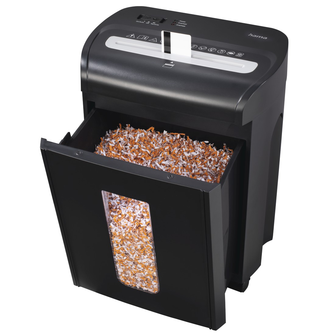 "awx High-Res Appliance - Hama, ""Premium M10"" Shredder, Shredder with Security Level E4 P4 T5"