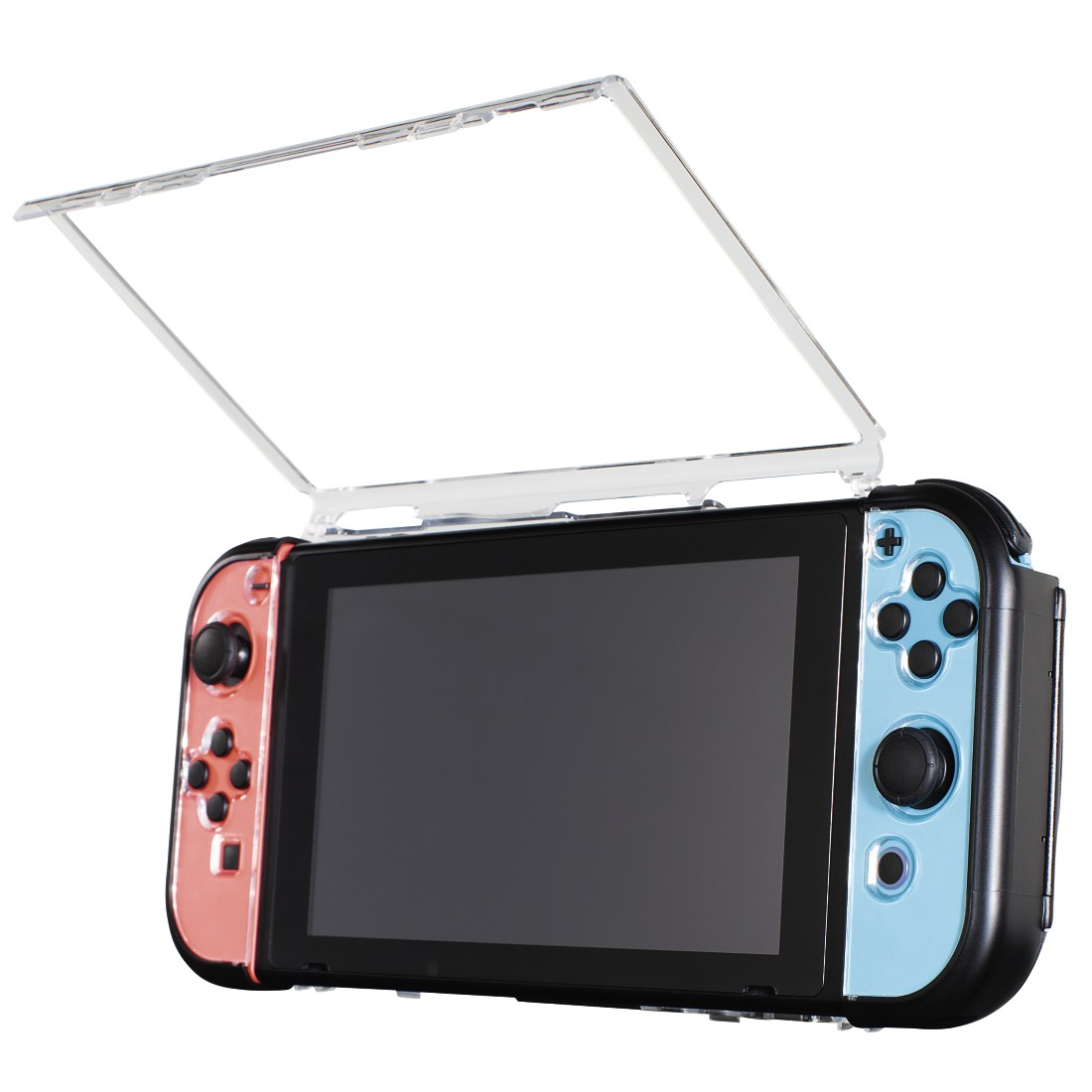 awx High-Res Appliance - Hama, Hardcover pentru Nintendo Switch, 3 buc., transparent