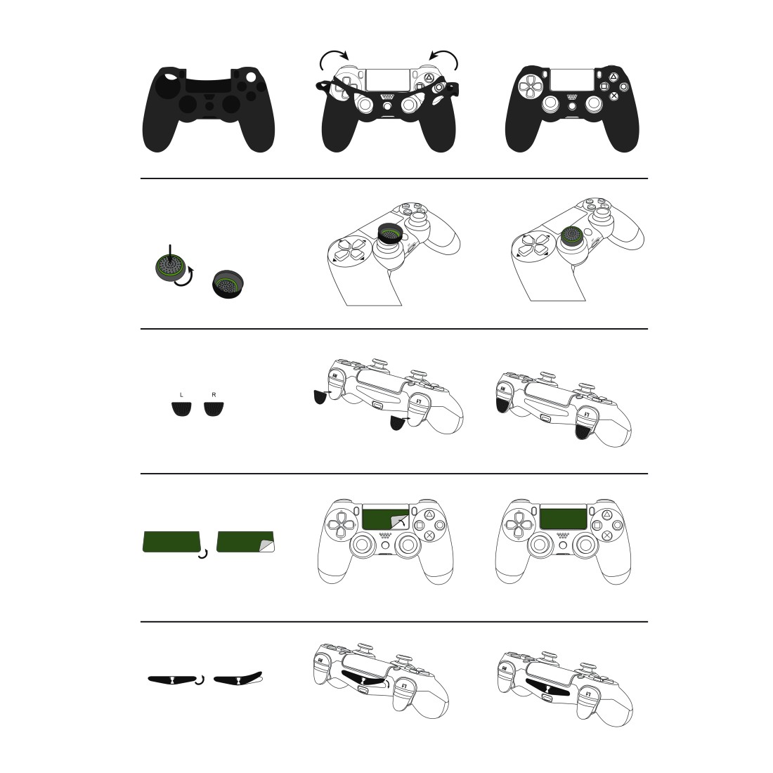 "dex6 High-Res Detail 6 - Hama, PS4 ACCESSORY PACK ""SOCCER"" 7IN1"