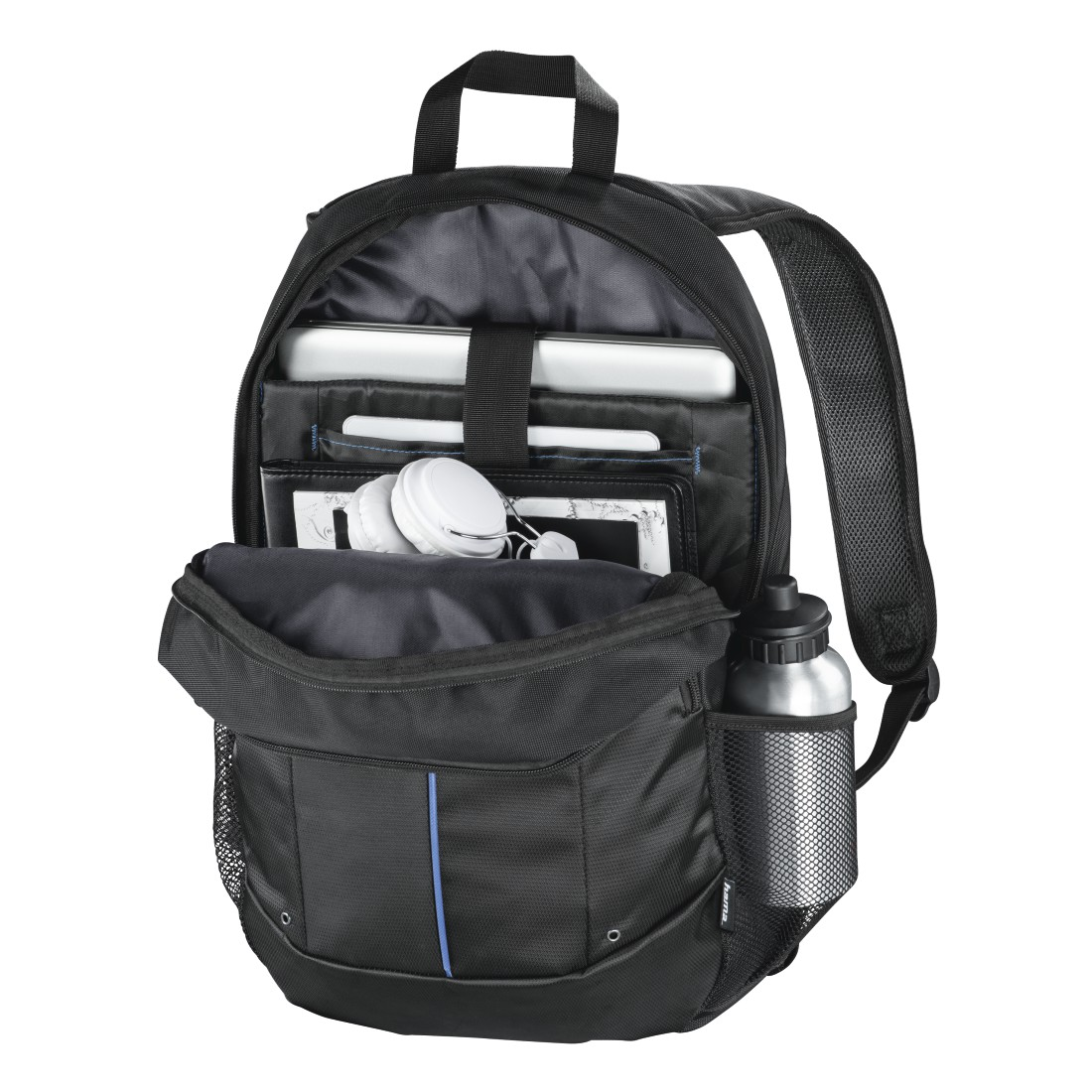 "abx3 High-Res Image 3 - Hama, ""Cape Town"" 2-in-1 Backpack, Notebooks 40 cm/15.6"", Tablets 28 cm/11"""