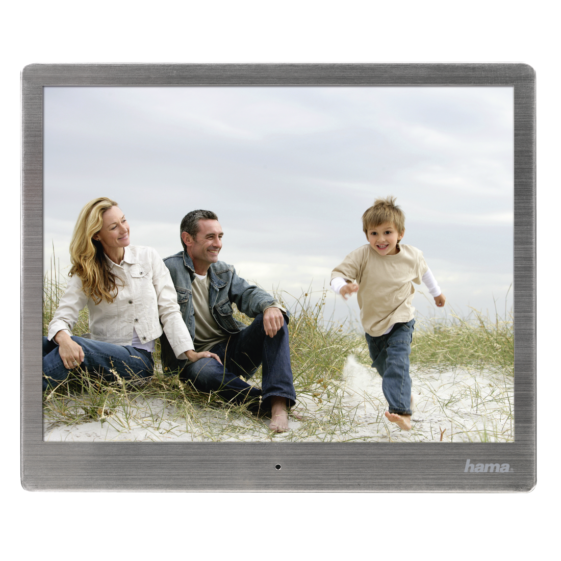 "abx6 High-Res Image 6 - Hama, ""97SLB"" Digital Photo Frame, 24.64 cm (9.7""), slim steel"