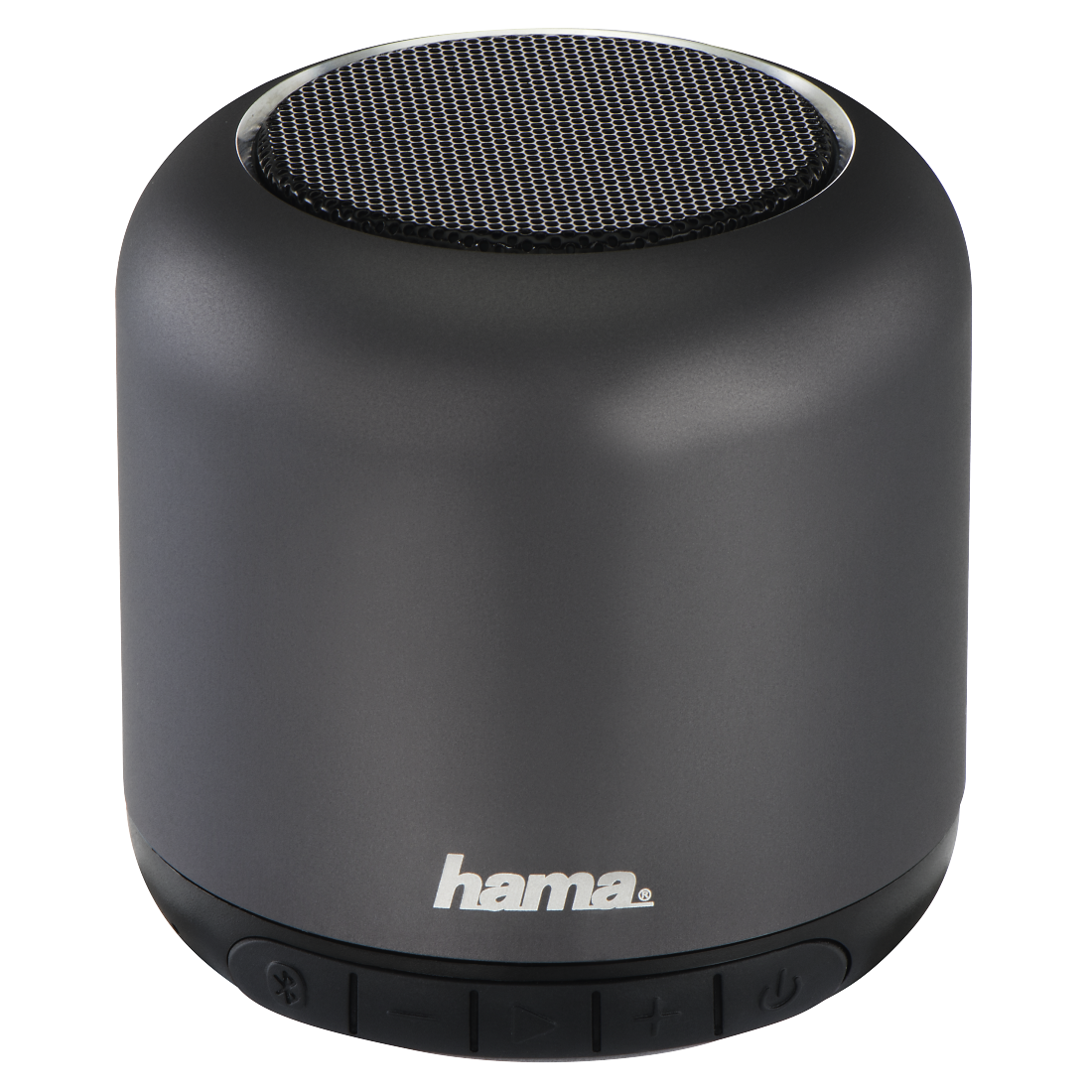 "abx High-Res Image - Hama, Boxa portabila bluetooth ""Steel Drum"" , antracit"