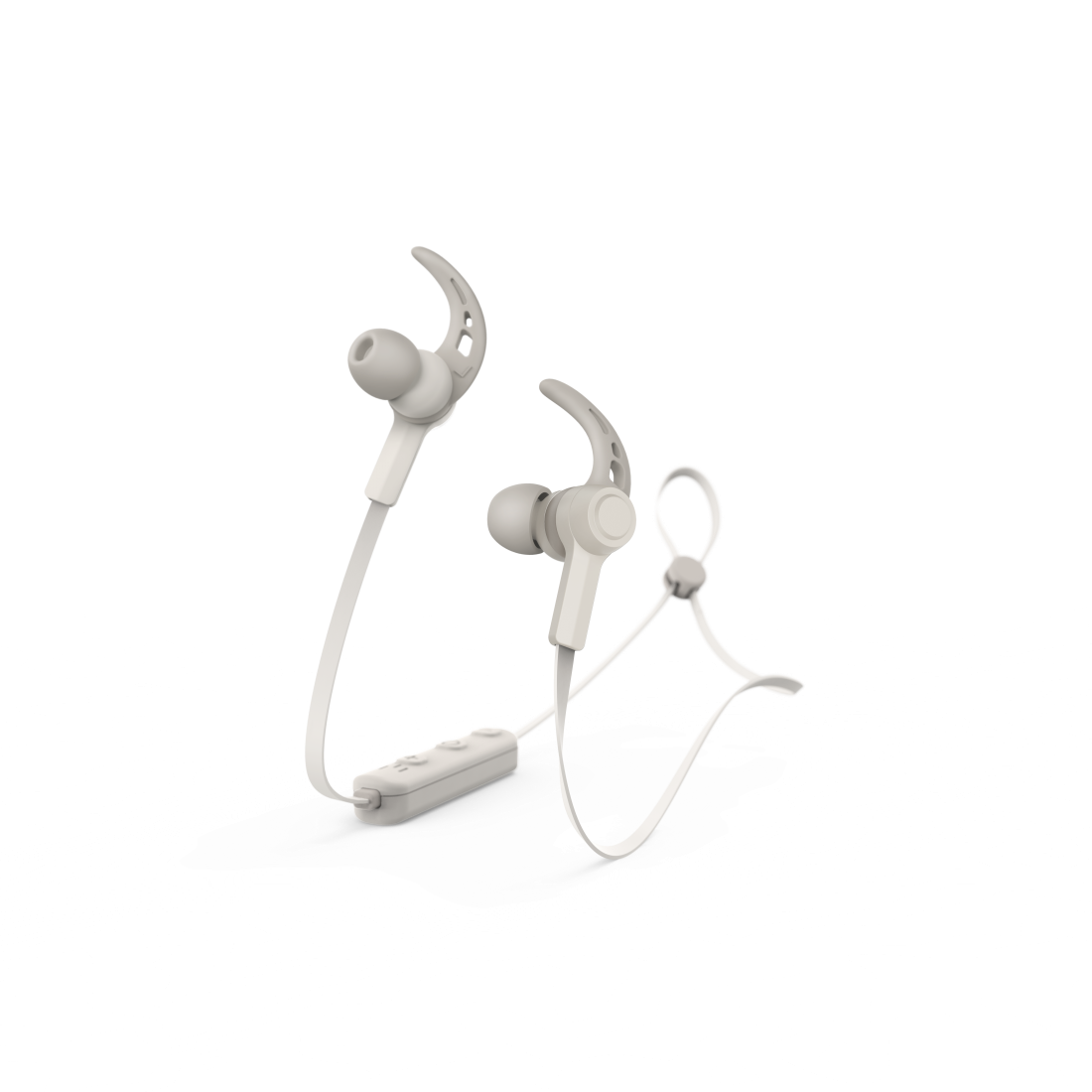 "abx High-Res Image - Hama, Căști Bluetooth® in-ear ""Connect"", microfon, carlige ureche, cablu plat"