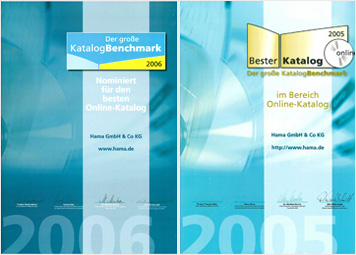 Awards for our online store