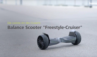 "Hama ""Freestyle-Cruiser"" Balance Scooter, 8"