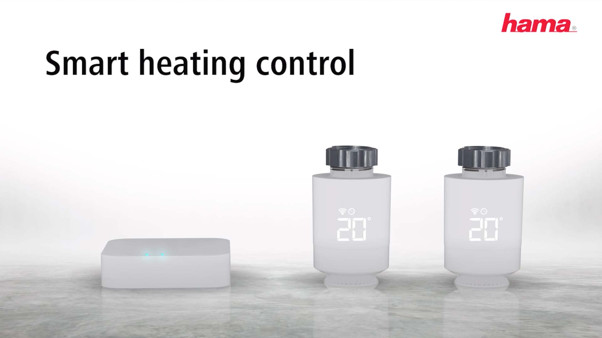 Hama WiFi Heating Control, Starter Kit with Hama Smart Base