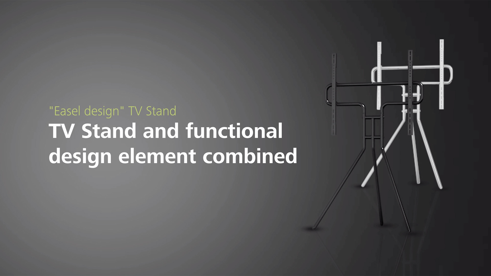 "Hama ""Easel-Design"" TV-Stand"