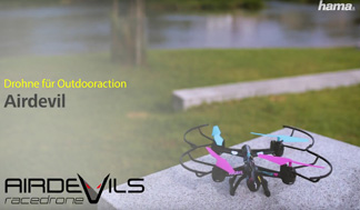 "Hama ""Airdevil"" Outdoor Quadrocopter"
