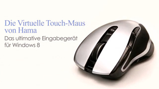 Hama First virtual touch mouse for Windows 8