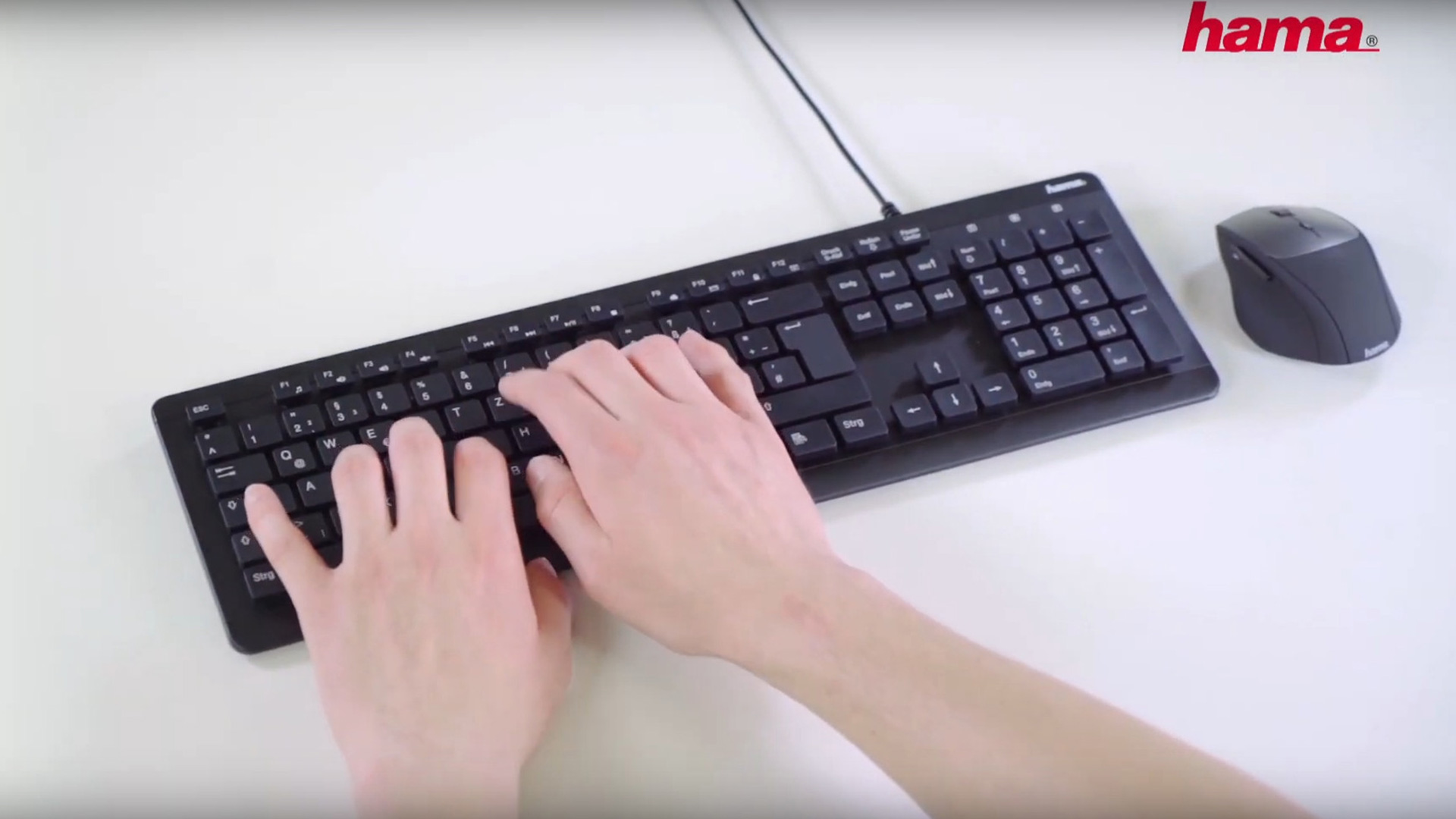 "Hama ""KC-600"" waterproof Keyboard"