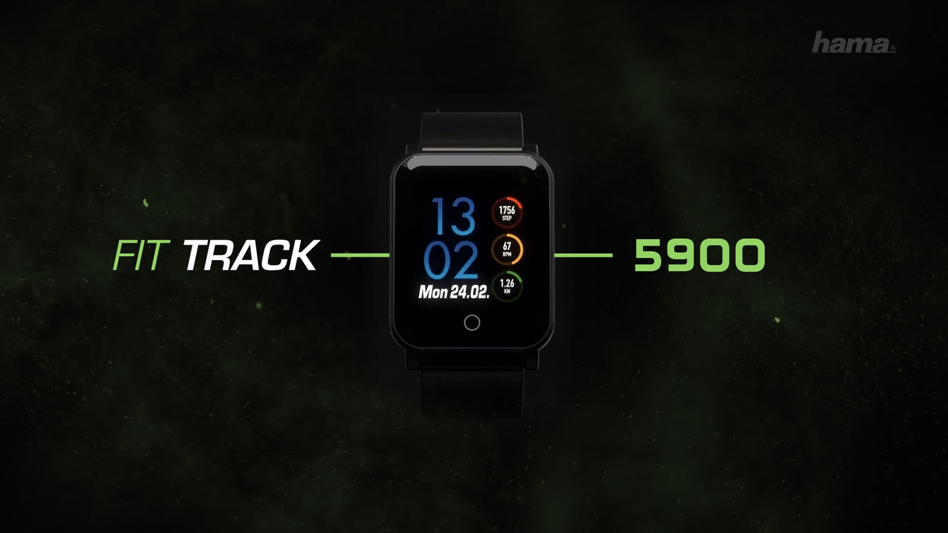 "Hama ""Fit Track 5900"" Fitness Tracker"